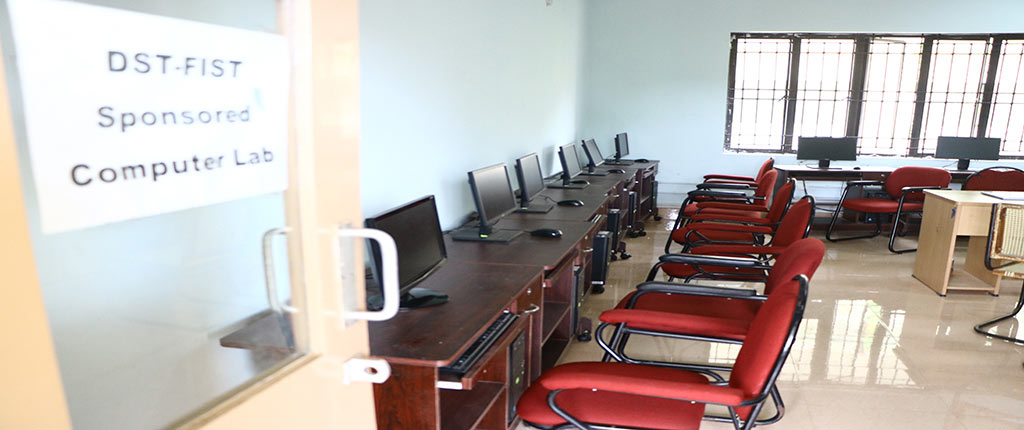 MG University-School of Environmental Sciences-Class-room